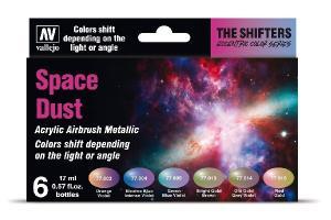 Vallejo Space Dust Colorshift Set (6 x 17 ml)