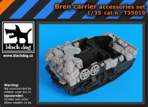 Black Dog Bren Carrier Accessories Set