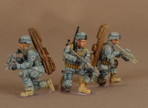 Soga Miniatures Snipers group 82-st Airborne Division (set 3)
