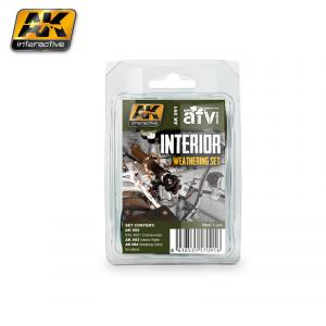 AK Interactive INTERIOR WEATHERING SET
