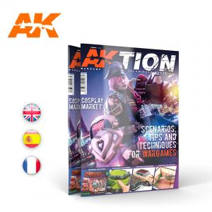 AK Interactive AKTION WARGAME Magazine - Issue 1. English