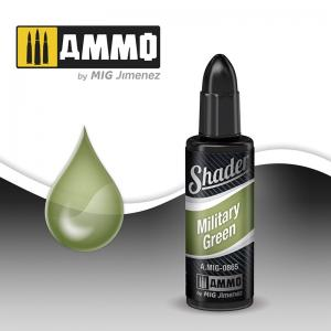 Ammo Mig Jimenez MILITARY GREEN SHADER 10 ML