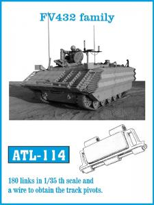 Friulmodel German halftrack L 4500R MAULTIER - Track Links
