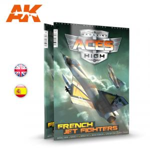 AK Interactive Aces High Magazine, Issue 15 - French Jet Fighters