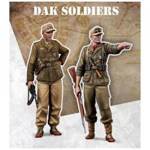 Scale75 DAK Soldiers