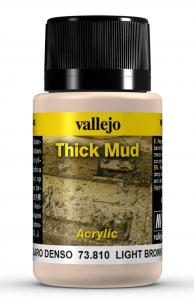 Vallejo Light Brown Thick Mud 40 ml