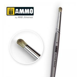 Ammo Mig Jimenez 6 AMMO Drybrush Technical Brush