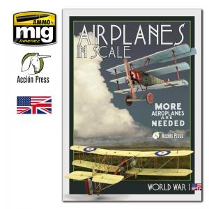 Ammo Mig Jimenez Airplanes in Scale - Vol III - World War I