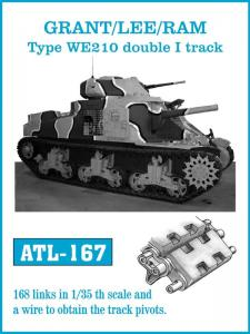 Friulmodel GRANT / LEE / RAM Type WE210 - Track Links