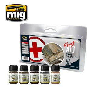 Ammo Mig Jimenez First Aid basic Pigments