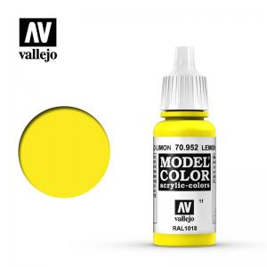 Vallejo Model Color 011 - Lemon Yellow