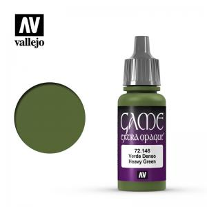 Vallejo Game Color - Heavy Green (Extra Opaque)