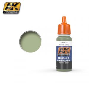 AK Interactive BSC. Nº28 Silver grey 17ml