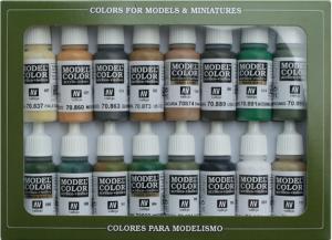 Vallejo Model Color Set - WWII Allied (x16)