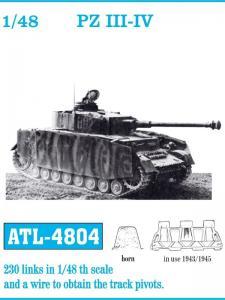 Friulmodel PzKpfw. III/PzKpfw. IV 1943-1945 - Track Links