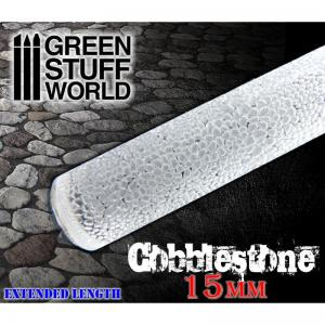 Green Stuff World Rolling Pin Cobblestone 15mm