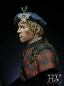 Heroes & Villains Jacoite Highlander Cullden 1746 1/12