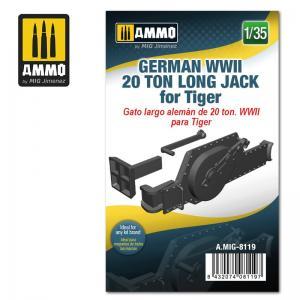 Ammo Mig Jimenez German WWII 20 ton Long Jack for Tiger