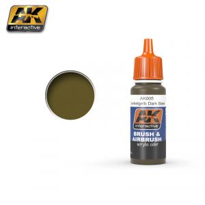 AK Interactive DUNKELGELB DARK BASE 17 ml