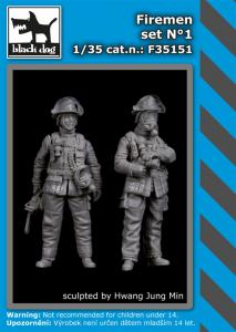 Black Dog Firemen Set No.1 (2 fig.)