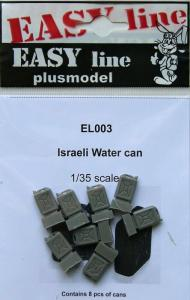 Plus Model Israeli Water Cans (8 pcs)