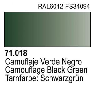 Vallejo Model Air 018 - Camouflage Black Green
