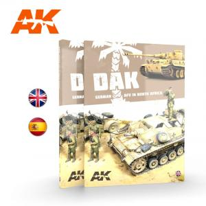 AK Interactive DAK – GERMAN AFV IN NORTH AFRICA