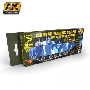 AK Interactive CHINESE MARINE CORPS AND AIRBONE FORCES
