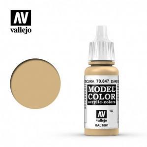 Vallejo Model Color 123 - Dark Sand
