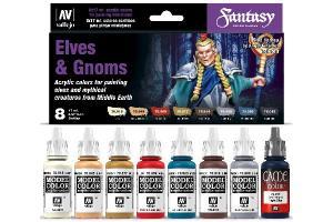Vallejo FANTASY COLOR SERIES ELVES & GNOMES
