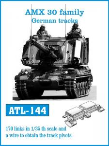Friulmodel AMX30 family German tracks - Track Links