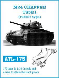 "Friulmodel M24 Chaffee T85E1 ""Rubber Type"" - Track Links"