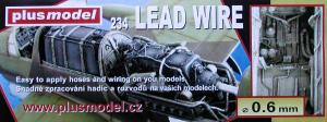 Plus Model Lead Wire 0,6 mm