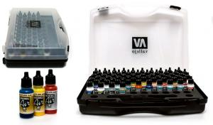 Vallejo Model Air - Basic Case Set (x72)