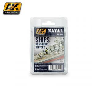 AK Interactive SHIPS VOL.2 WEATHERING SET