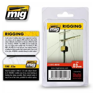 Ammo Mig Jimenez Rigging - Medium 0,03mm