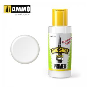 Ammo Mig Jimenez One Shot Primer – Transparent , 60ml