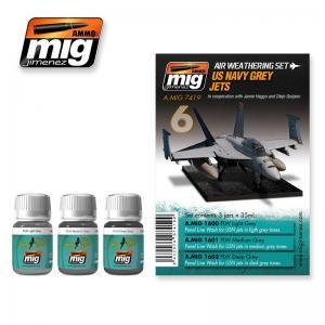 Ammo Mig Jimenez US Navy Grey Jets