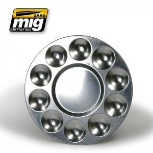 Ammo Mig Jimenez Aluminium Pallets (10 Wells)