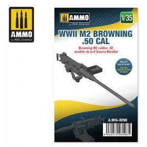 Ammo Mig Jimenez WWII M2 Browning .50 cal