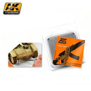 AK Interactive RUSTY TOW CHAIN BIG