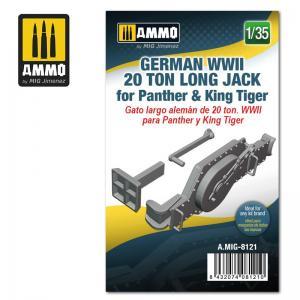 Ammo Mig Jimenez German WWII 20 ton Long Jack for Panther & King Tiger