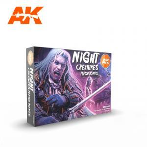 AK Interactive NIGHT CREATURES FLESH TONE