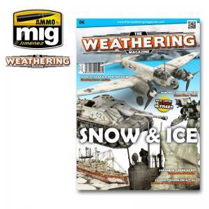 Ammo Mig Jimenez The Weathering Magazine #7, Snow and Ice.