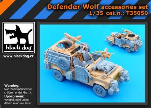 Black Dog Defender Wolf - Accessories Set (HBB)