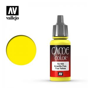 Vallejo Game Color - Fluo Yellow