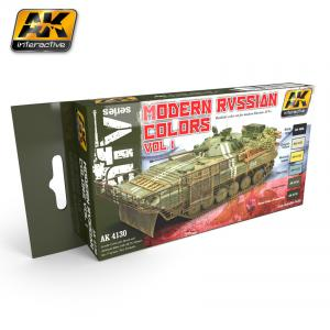 AK Interactive MODERN RUSSIAN COLOURS VOL.1