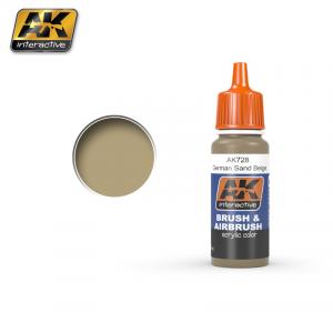 AK Interactive RAL 8031 F9 German Sand Beige 17ml
