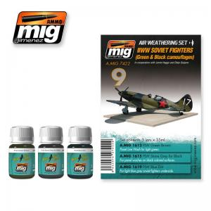 Ammo Mig Jimenez WWII Soviet Airplanes (Green & Black Camouflages)