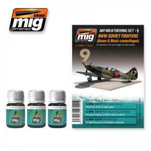 Ammo Mig Jimenez WWII Soviet Airplanes (Green & Black Camouflages)